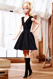 Classic Black Dress Barbie® Doll