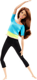 Barbie® Made To Move™ Doll - Turquoise Top