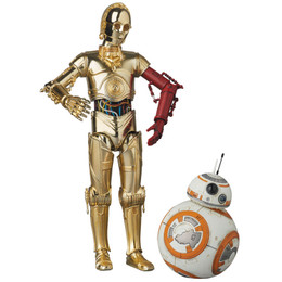 "MAFEX No.029 C-3PO & BB-8 ""Star Wars: The Force Awakens"" (Dented Box)"