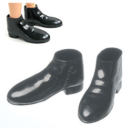 OBITSU BODY ACCESSORY - Obitsu Semi Boots, Male,1/6 - Black