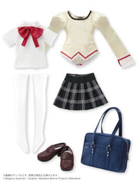 1/3 Character Costume Series - Puella Magi Madoka Magica the Movie / Mitakihara Middle School Girls Uniform Set No.01 For Madoka Kaname