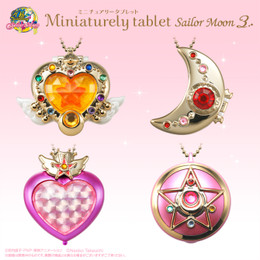 Miniaturely Tablet Sailor Moon Part.3 10 Pcs Box (Candy Toy)