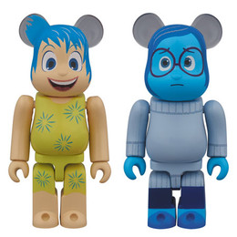 BE@RBRICK Inside Out JOY & SADNESS Set of 2