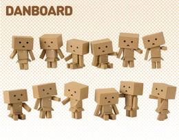 Yotsuba&! - WaiWai DANBOARD MINI FIGURE 12 Pcs Box