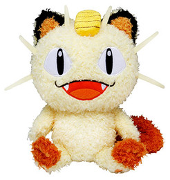 Pokemon - Meowth MokoMoko Plush