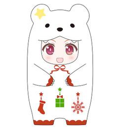 Nendoroid More - Kigurumi Face Parts Case (Christmas Polar Bear Ver.)