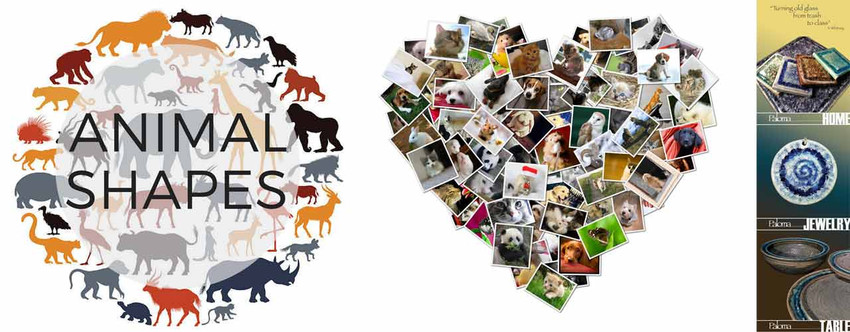 Cute Animal Shapes & Gifts for Pet Lovers