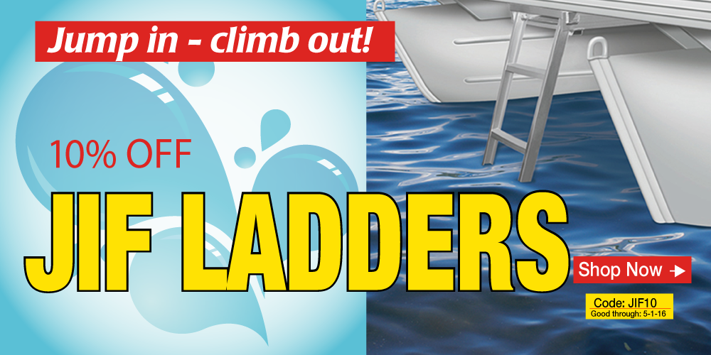 10% off Jif Ladders - Use Coupon Code JIF10