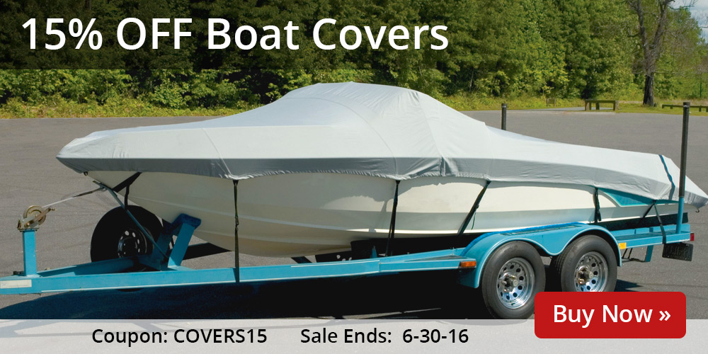 15% off Boat Covers: COVERS15