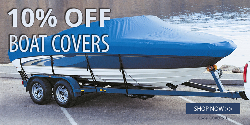 10% off boat covers: use coupon code COVERS10