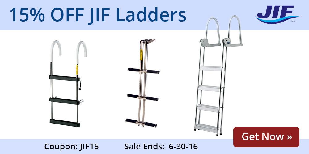15% off Jiff Ladders: JIF15