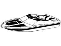 Boat covers for cruisers