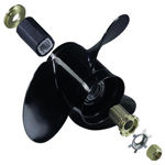 Boat propeller with interchangeable hub