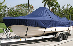 Semi-custom boat covers to fit certain styles of boat
