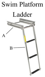 Swim Platform Ladder