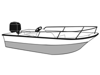 Whaler style boat covers