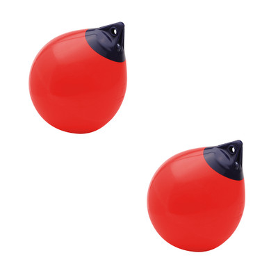 Polyform A series in bulk. 2 red buoys in a case