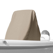 Carver universal center console cover with beige Poly-Guard fabric