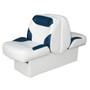 Wise Capri & Classic premier back-to-back seat in Cuddy Bright White/Cuddy Round Midnite