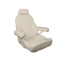 Bentley's Magnum Rivermaster Helm Seat in Sand