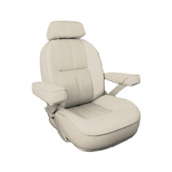 Bentley's Yachtsman Rivermaster Helm Seat in Sand