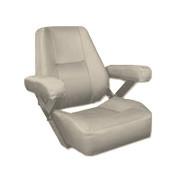 Bentley's Patriot Boat Helm Seat in Sand 300055