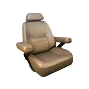Bentley's Rivermaster Boat Helm Seat in Tan 300071