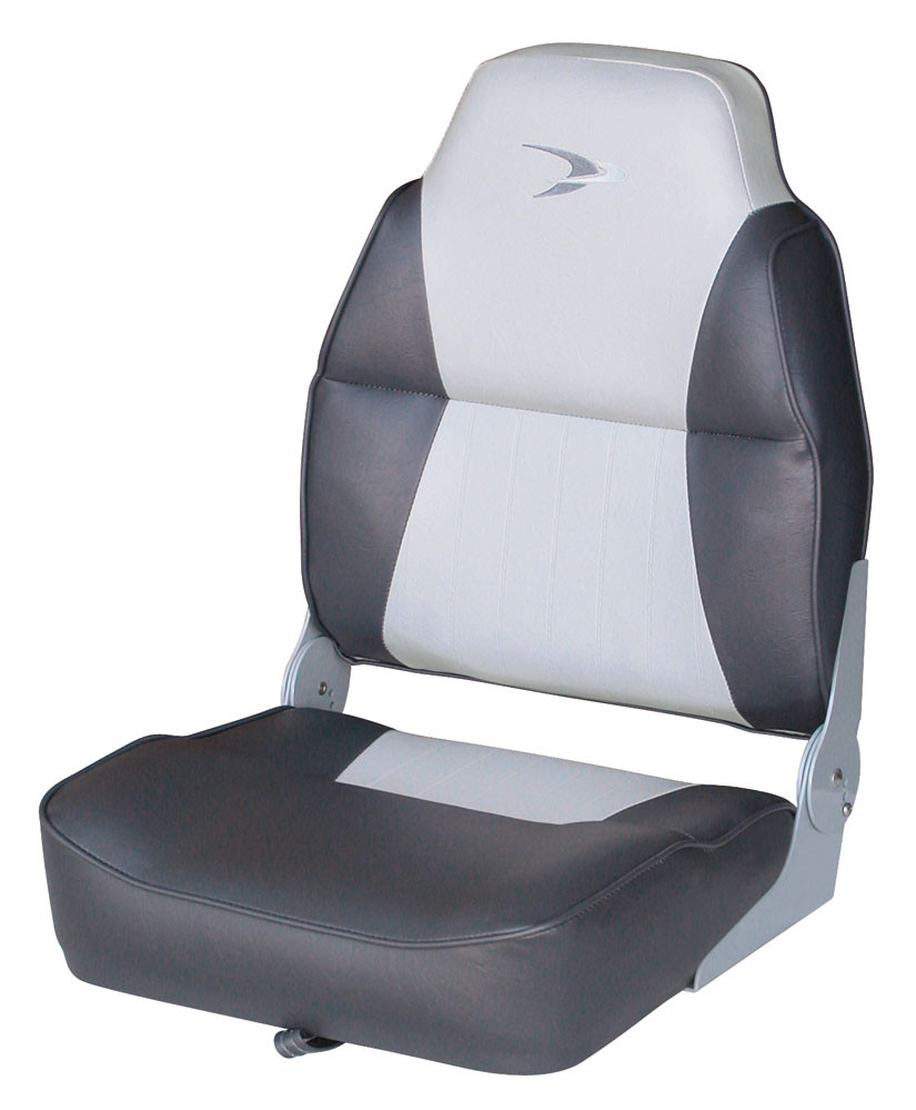 Folding boat seats for sale lund boat seats savvyboater for Fishing boat seat