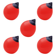 5 buoys in a case pack - Polyform A5 red