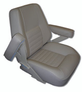 Bentley's Rivermaster - Large | Boat Helm Seat | with Flip-Up Arms