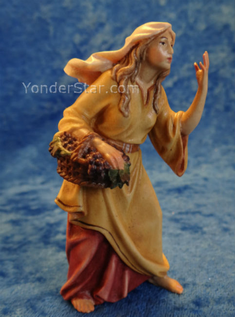 Woman w Grapes LEPI Nazarene Nativity