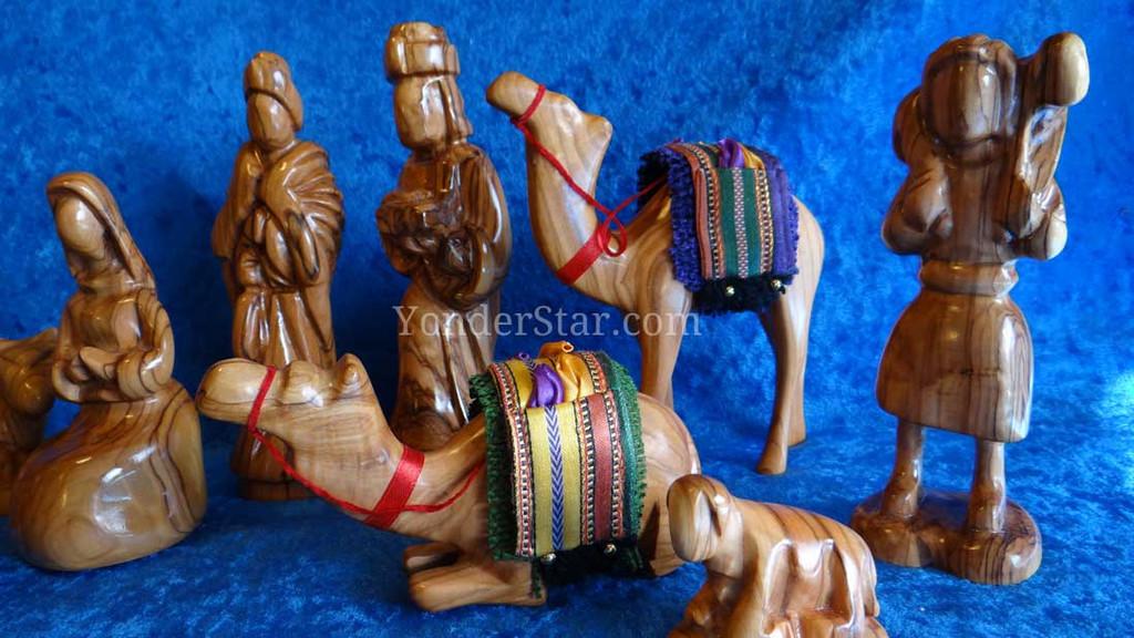 Jordanian Nativity Set - Handmade in Jordan : Pre-Order
