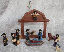 Amish Nativity Set