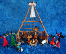 Zambian nativity set