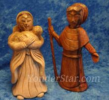 Neem wood nativity set fair trade.