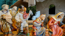 LEPI Nazarene Italian Nativity Set 16 piece w Stable