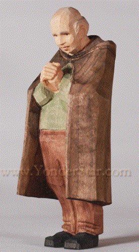 Man with Hands Clasped - Huggler Nativity Woodcarving