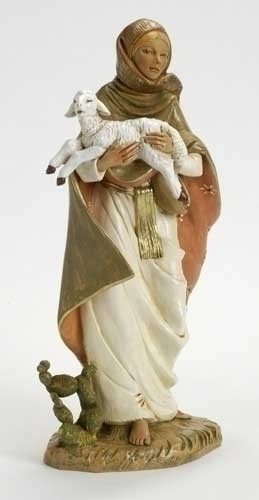 "Rhoda - 18"" Fontanini Nativity Shepherdess 53725"