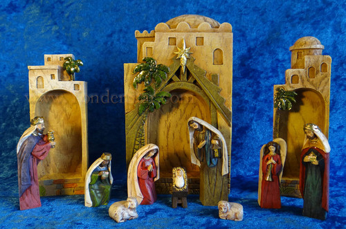 Architectural Bethlehem Nativity Set