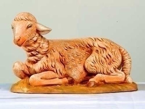 "Sheep Seated - 18"" Scale Fontanini Nativity Animal 53441"