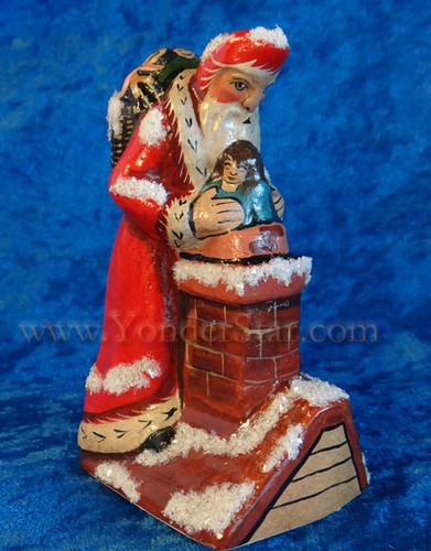 """2015 """"Starlight Santa"""" by Vaillancourt Folk Art"""