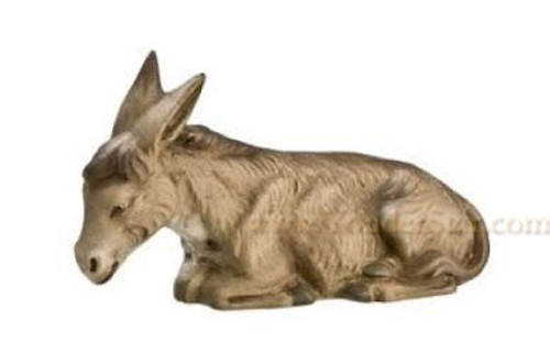 Marolin German Nativity Seated Donkey 12cm Scale
