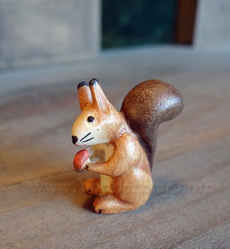 Squirrel for LEPI Kastlunger Wooden Nativity
