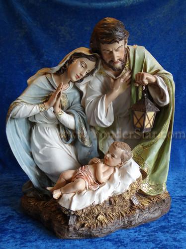 """20"""" Holy Family Joseph's Studio Nativity"""