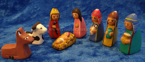 "2"" Mini Peruvian Creche Set"