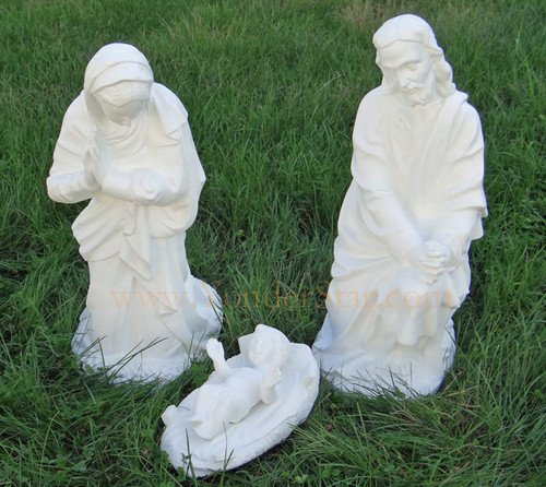 Outdoor Nativity Scene Holy Family