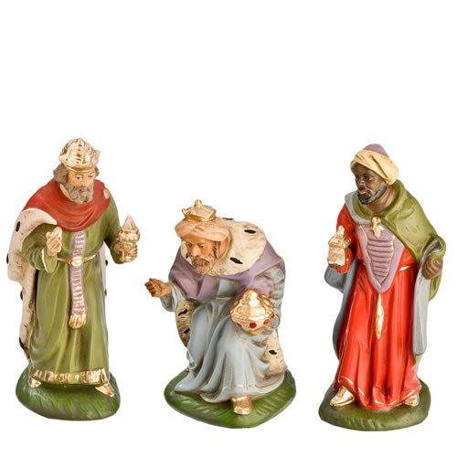 Wisemen Marolin German Nativity 2 cm Scale
