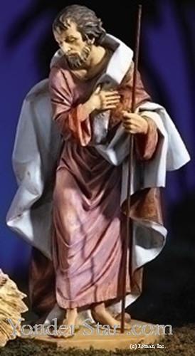 """Joseph - 27"""" Fontanini Nativity Joseph 53111"""