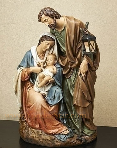 "25"" Large Classic Holy Family Nativity 30022"