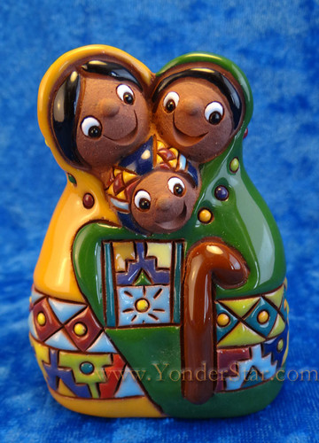 "3"" Chuyma Heart of the Family Nativity Fair Trade Bolivia : Pre-Order"